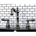 Black  Nickel Widespread Bathroom Faucet