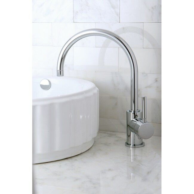 High Arc Chrome Vessel Faucet