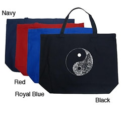 Los Angeles Pop Art Yin Yang Tote Bag
