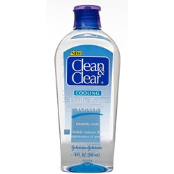 Clean & Clear Cooling Daily Pore Toner 8-ounce (Pack of 4)