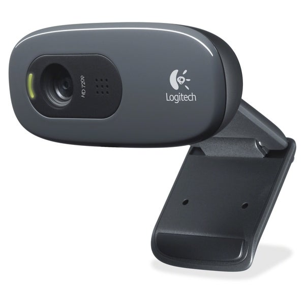 Logitech C270 Webcam - Black - USB 2.0