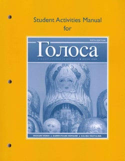 Golosa, Book One: A Basic Course in Russian (Paperback)