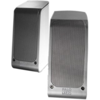 Palo Alto Audio Design SA110B 2.0 Speaker System - Silver, White