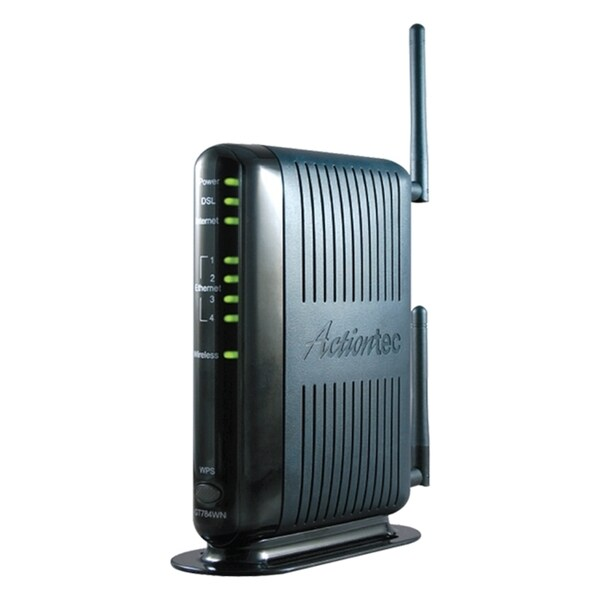 Actiontec GT784WN DSL Modem/Wireless Router - W/B No Filters
