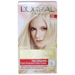 L'Oreal Excellence Creme Pro Keratine # 10 Light Ultimate Blonde Hair Color