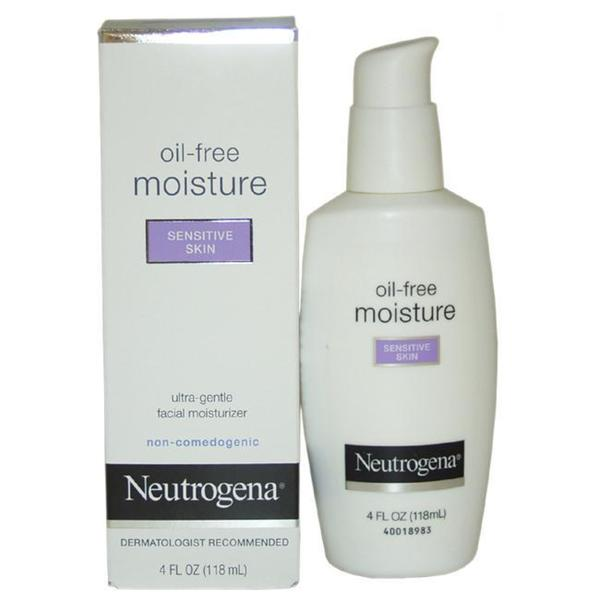 Neutrogena Sensitive Skin 4-ounce Oil-Free Facial Moisturizer