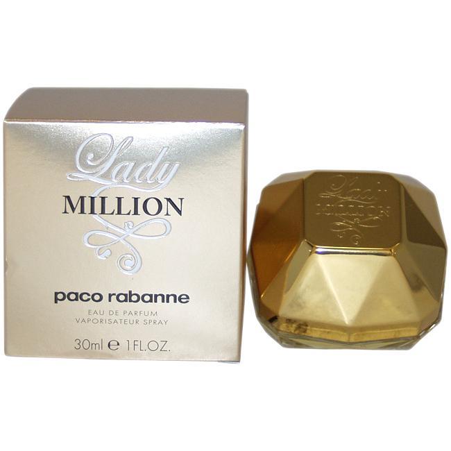 paco rabanne lady million women 39 s 1 ounce eau de parfum. Black Bedroom Furniture Sets. Home Design Ideas