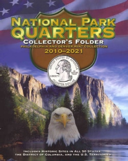 National Park Quarters Collector's Folder 2010-2021: Philadelphia and Denver Mint Collection (Hardcover)