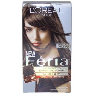 L'Oreal Feria 'Deeply Brown #40' Hair Color