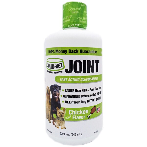 Liquid-Vet Chicken Flavor Holistic Joint Formula - 32-ounce Economy Size