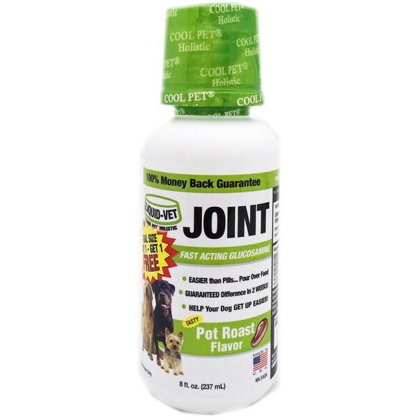 Liquid-Vet Pot Roast Flavor Holistic Joint Formula - 8 ounces (Pack of 2)