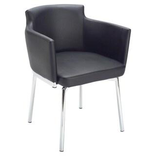 Sunpan Garcia Metal Black Swivel Chair