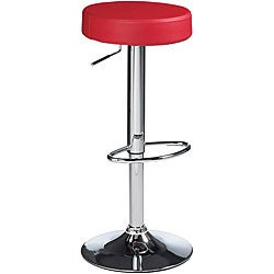 Sunpan Paris 30-inch Metal Red Barstool