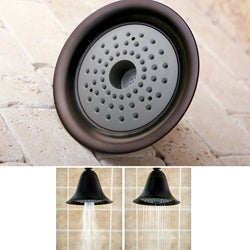 High Velocity Air Enhancing Oil Rubbed Bronze Showerhead