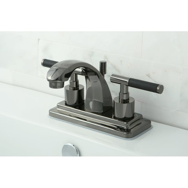 Black Nickel Bathroom Faucet 13862492 Overstock Com