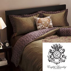 English Laundry Cheadle King-size 3-piece Duvet Cover Set