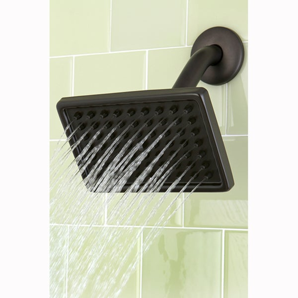 Oil Rubbed Bronze Rectangle Showerhead