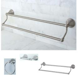 Satin Nickel 3-piece Bathroom Accessory Set