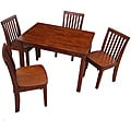 Juvenile Cottage Oak Mission Table with Four Chairs Set