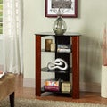 Wood Accent 35-inch Component Tower
