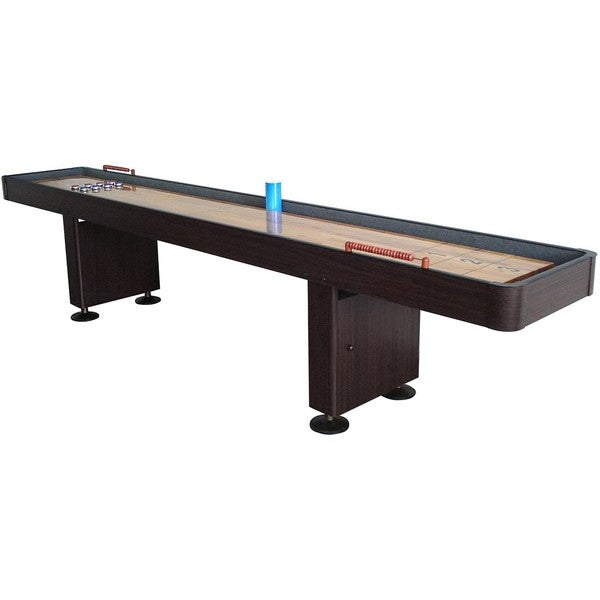 Hathaway Challenger Walnut Finish 12-ft Shuffleboard 8396428