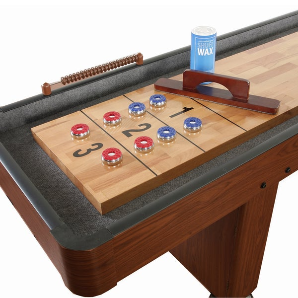 Hathaway Challenger 9-ft Shuffleboard     Dark Cherry finish 8396433