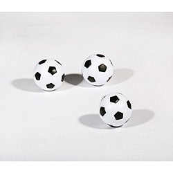 Hathaway Soccer Ball Style Foosballs (Pack of 3)