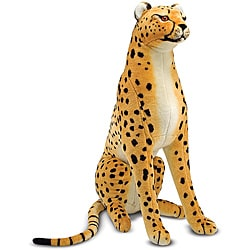 Melissa & Doug Plush Cheetah Animal Toy