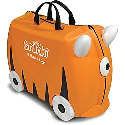 Melissa & Doug Orange Trunki Sunny Ride-on Luggage