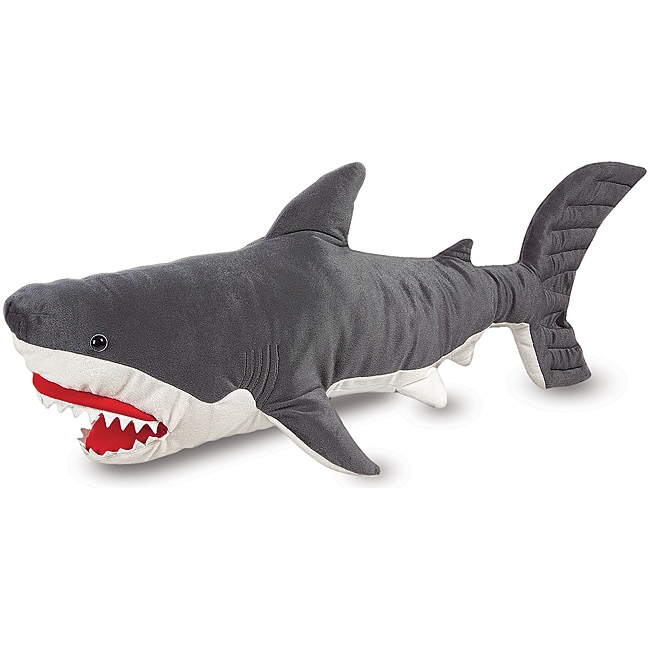 Overstock Toys For Boys : Melissa doug plush shark animal toy