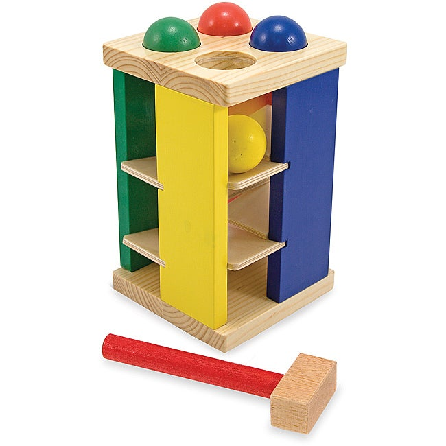 Melissa & Doug Pound and Roll Tower Play Set