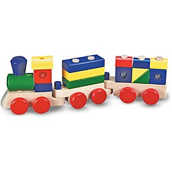 Melissa & Doug Stacking Train Play Set