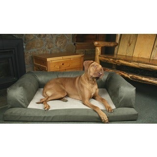 Hidden Valley Extra-large Sage/Cream Removable-cover Baxter Dog Couch