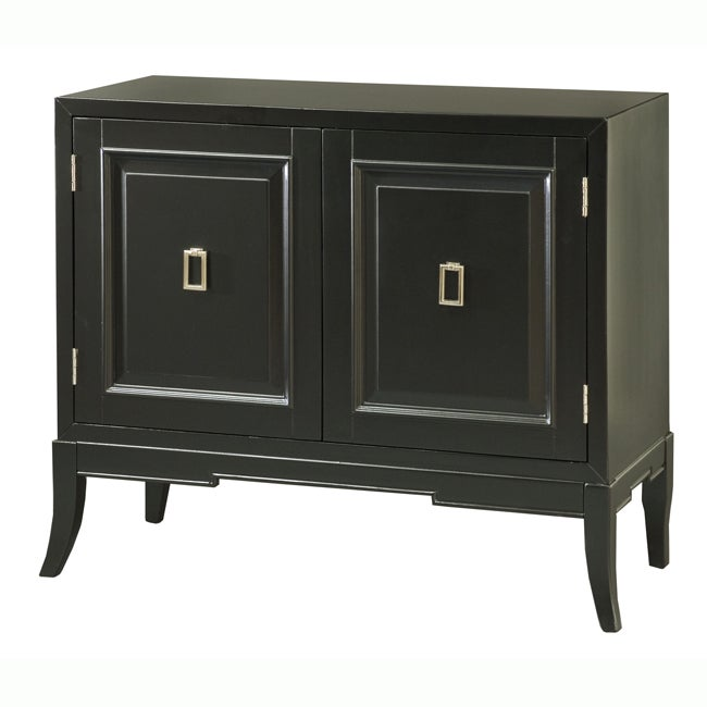 Painted Black Accent Chest