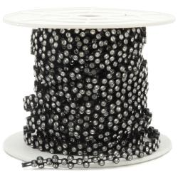 Bling Ribbon 10-yard Black Ribbon