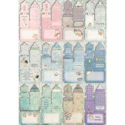 Vintage Baby Journal Die-cuts 48-page Book