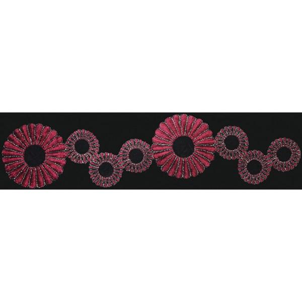 Burgundy Fabric Ribbon