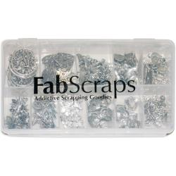 Boxed Charm EmbellishmentOld Silver 1 110-piece Assortment
