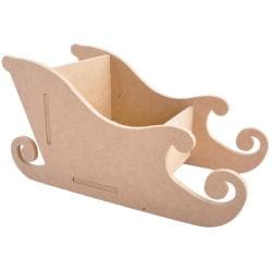Beyond The Page MDF Santa Sleigh