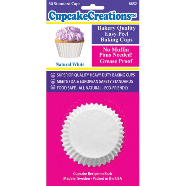 Cupcake Creations Standard Baking Cups (Pack of 30)