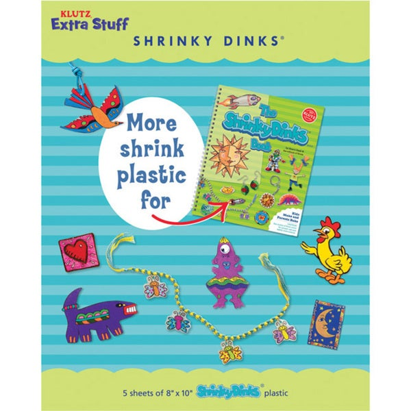Extra Stuff For The Shrinky Dinks Book Kit