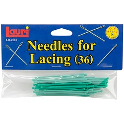 Patch Products Plastic Ball Tipped Needles For Lacing (Pack of 36)