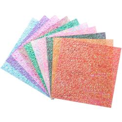 Folia Origami Paper Textured Iridescent (Pack of 50)