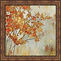 Asia Jensen 'Golden Foliage' Framed Print