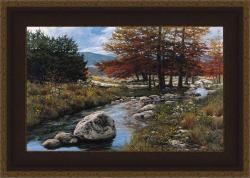 Greg Glowka 'Cypress Creek' Framed Print