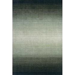 Hand-tufted Manhattan Ombre Green Wool Rug (2'3 x 3'9)