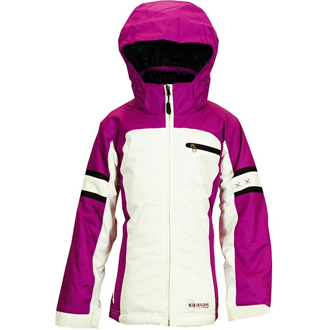 Boulder Gear Girl's 'Hugger' Purple Passion Ski Jacket