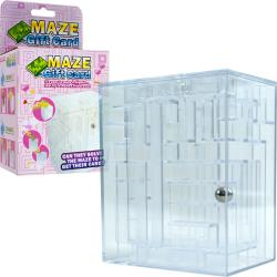Maze Brainteaser Puzzle Unlocks Gift Card Compartment