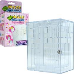 Maze Brainteaser Puzzle Unlocks Gift Card Compartment