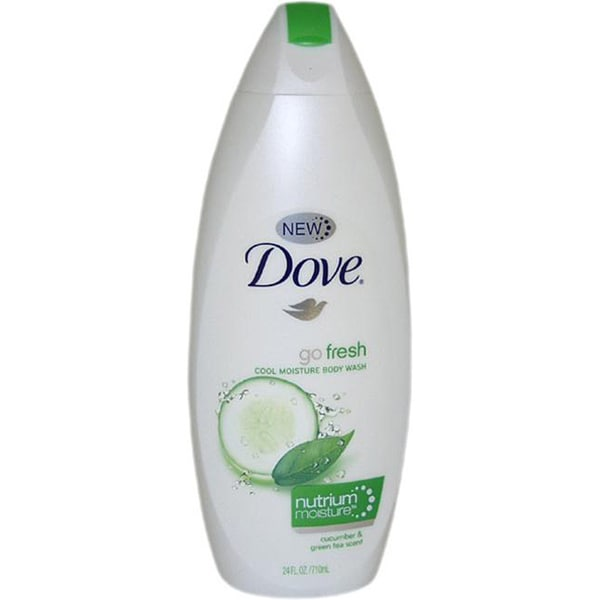 Dove Go Fresh Cool Moisture Body Wash with NutriumMoisture Cucumber & Green Tea Scent 24-ounce